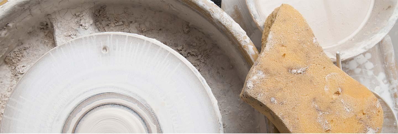 Produzione ceramiche da tavola fatte a mano