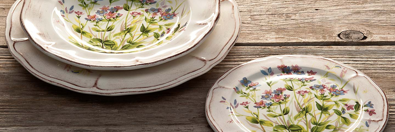 Produzione piatti da tavola in ceramica