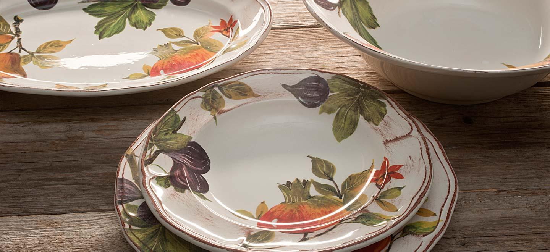 Produzione ceramica da tavola